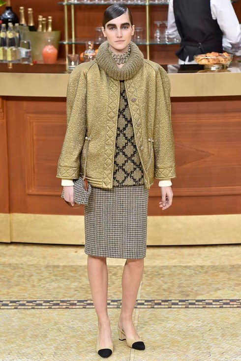 Chanel Paris RTW Fall Winter 2015 March 2015